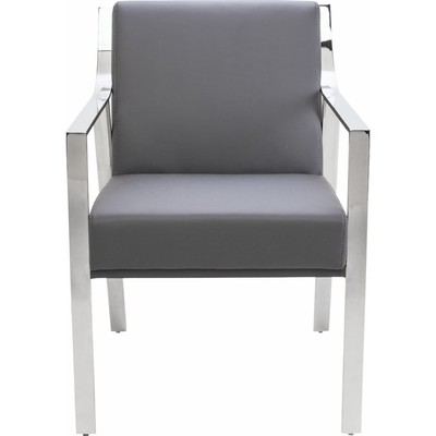 Valentine Dining Armchair - Grey