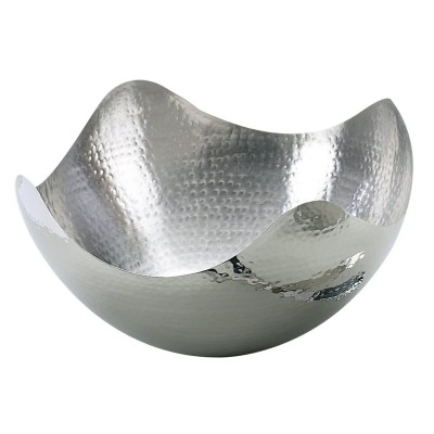 Hammered Wave Bowl, 10 inches
