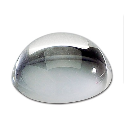 Optical Crystal Dome Magnifier / Paperweight
