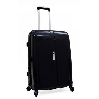 Samboro Shuttle Hardside Luggage 23 inch Expandable Spinner - Black Color