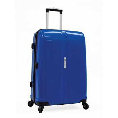 Samboro Shuttle Hardside Luggage 23 inch Expandable Spinner - Blue Color
