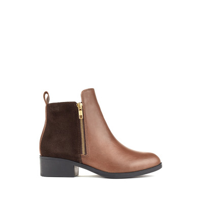 Women's Cougar 'Connect Leather/Suede' in Taupe/Chocolate
