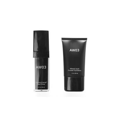 Face Primer & Mineral Liquid Powder Foundation Duo