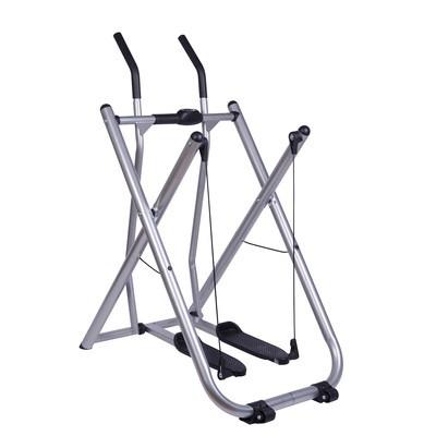 Folding Exercise Fitness Elliptical Glider Machine Trainer w/ Pedometer