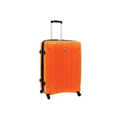 """Volume Lite Luggage 24"""" Hardside Expandable Spinner - Orange Color"""