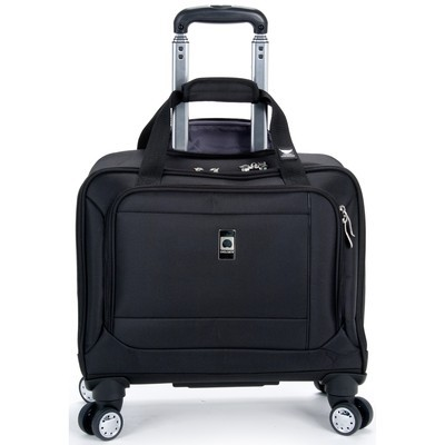 "Helium Breeze 4.0 Luggage 17"" Trolley Tote Spinner - Black Color"