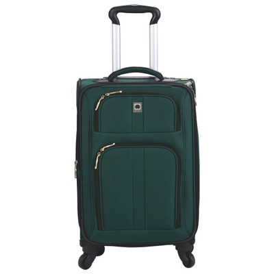 "Amherst 18"" 4-Wheeled Expandable Carry-On Luggage - Green Color"
