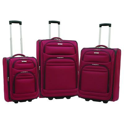 Helium Quantum Luggage 3 Piece Set - Burgundy Color