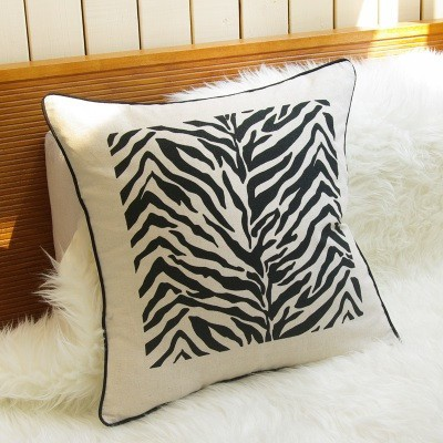 Animal Pillow - Zebra Print