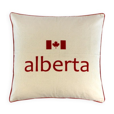 Canadian Provinces Pillow - Alberta