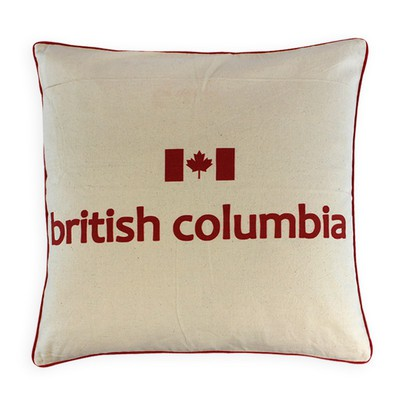 Canadian Provinces Pillow - British Columbia