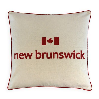Canadian Provinces Pillow - New Brunswick