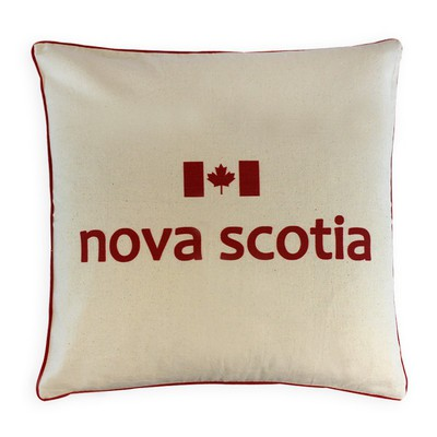Canadian Provinces Pillow - Nova Scotia