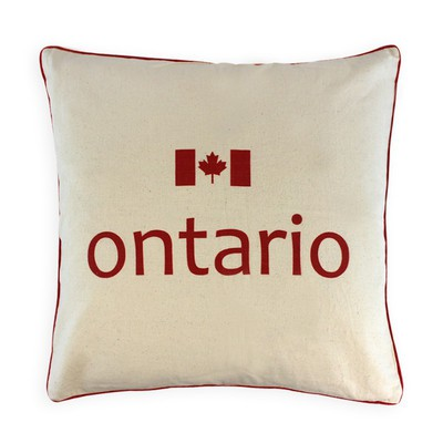 Canadian Provinces Pillow - Ontario