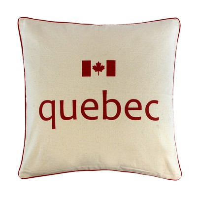 Canadian Provinces Pillow - Quebec