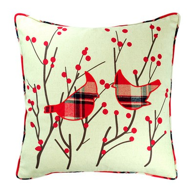 Birds in Spring Pillow