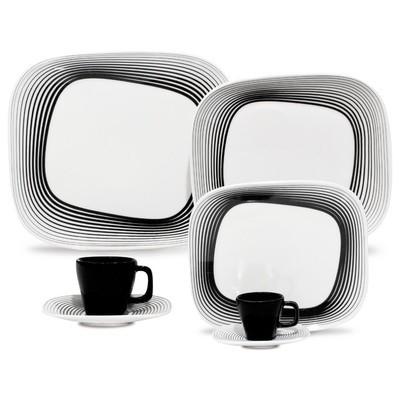 Porcelain Plate Set - Wisk- 12 Pieces