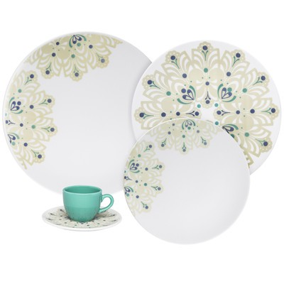 Coup 12-Piece Porcelain Dinnerware Set