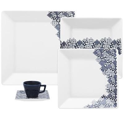 Quartier 20-Piece Porcelain Dinnerware Set - Piece