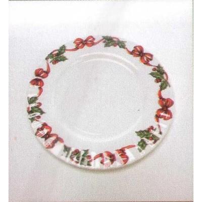 Roy Kirkham Tea Plate 20 cm - X'mas Ribbon Set of 6