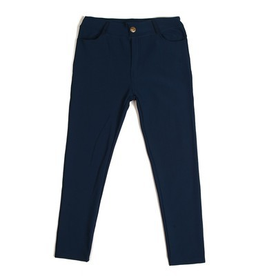 Luxanne Fur lined Cozy Blue Jegging