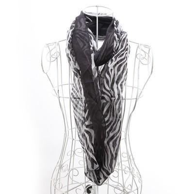 Luxanne Zebra All Season Infinity Cowl
