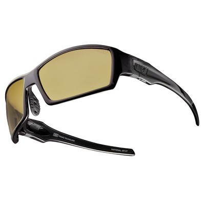 NATIONAL- Matte Black & Grey with Amber Polarized+ Lens