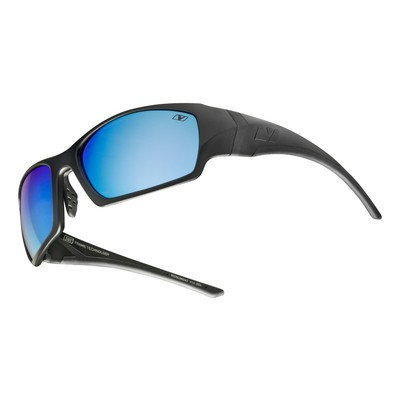 MONUMENT - Matte Black with See Blue Polarized+ Lens