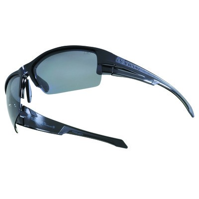 PIPER - Polished Black with Slate Polarized+ Lens