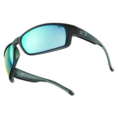WESTON - Matte Black with See Blue Polarized+ Lens