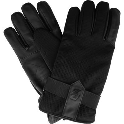 Men's Leather Sport Gloves - Black