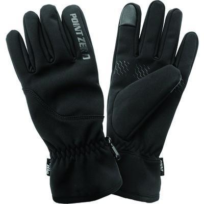 Men's Texting Winter Gloves- Black