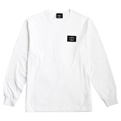 Patch Long Sleeve Shirt White