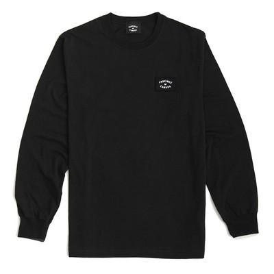 Patch Long Sleeve Shirt Black