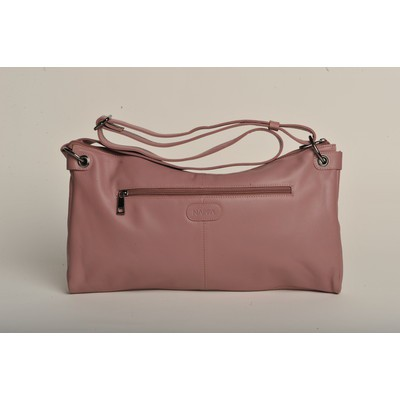 Lisa Leather Messenger Bag