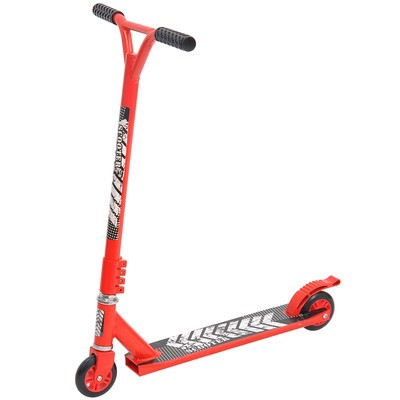 Pro Stunt Scooter Push Kick Street Bike Red