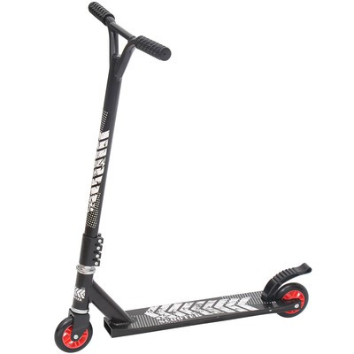 Pro Stunt Scooter Push Kick Street Bike Black