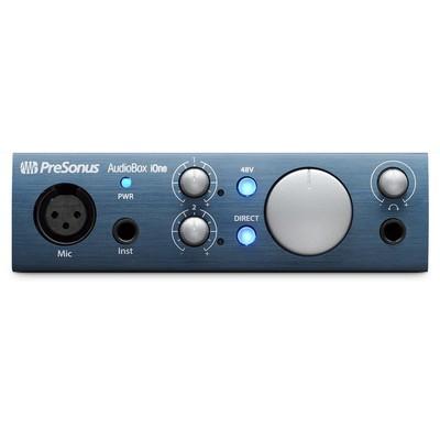 PreSonus Audiobox iOne USB/iPad Recording System - PreSonus - AUDIOBOX-IONE