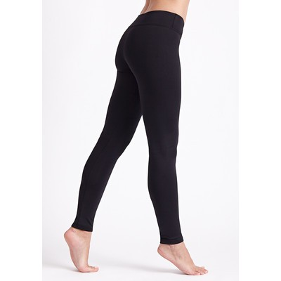 Wide Waistband Legging - Black
