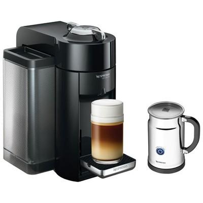 Nespresso Coffee & Espresso Machine - Deluxe - Black with Frother
