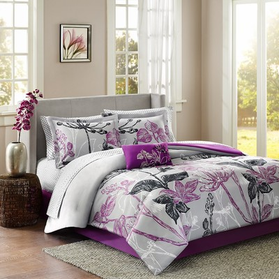 Claremont 9 piece QUEEN comforter set