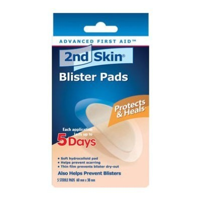 2nd Skin Blister Pads 5 Blister Pads