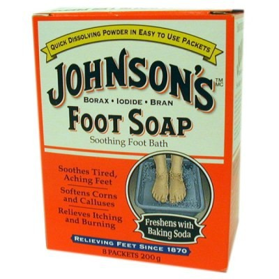 Johnson's Foot Soap 8 packets 200g - Soothing Foot Bath