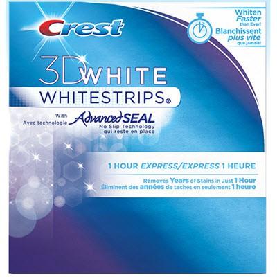 Crest 3D Whitestrips Advanced Seal 8 Strips - 4 Upper 4 Lower
