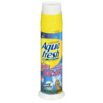 Aquafresh Kids Pump Toothpaste 90mL - Bubblemint