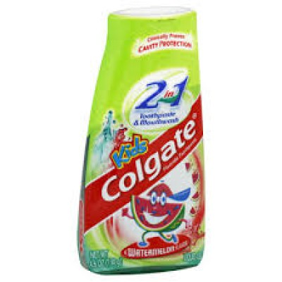 Colgate Kids 2-in-1 Liquid Gel 100mL - Watermelon