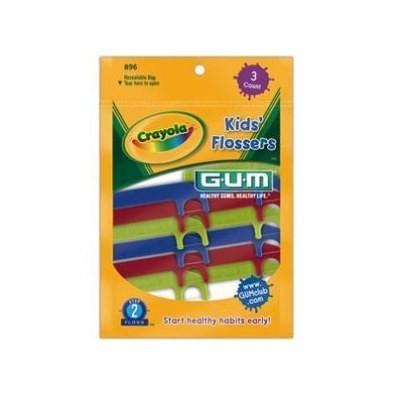 GUM Crayola Kids Flossers 40 Flossers