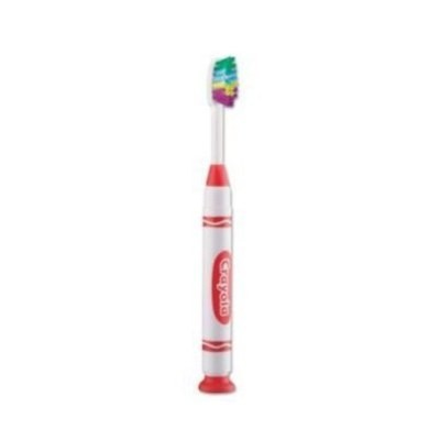 GUM Crayola Marker Toothbrush 1 Toothbrush - Colours may vary