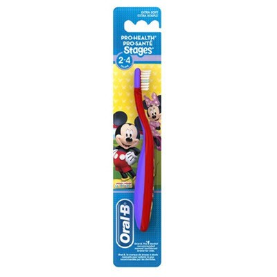 Oral-B Stages Toothbrush (2-4 years) Mickey & Minnie Mouse