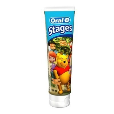 Oral-B Stages Toothpaste 100mL - Winnie the Pooh